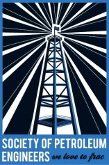 USC's Society of Petroleum Engineers Poster/Shirt design