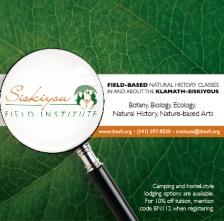 Bay Nature: Siskiyou Field Institute Ad