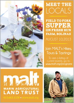 Bay Nature: Marin Agricultural Land Trust Ad