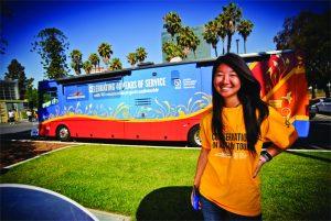 Tour 40 Volunteer Event in Los Angeles