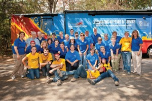 Tour 40 Volunteer Event in Houston