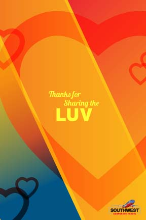 Southwest Airlines: Greeting Cards (Thank You)