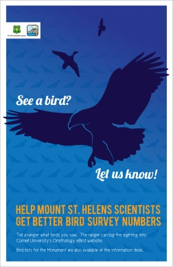 US Forest Service, Mount St. Helens: Posters (eBirds)