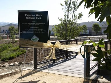 Pacoima Wash Natural Park Opening