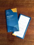 UCLA Conferences & Catering In-Room Materials: Brochure